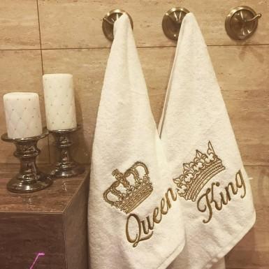 Ręcznik 50x100 Queen&King