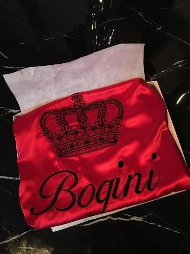 Szlafrok satynowy Bogini