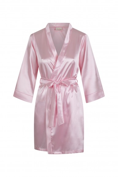 Bathrobe satin